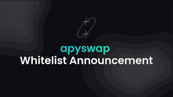 Thông báo Whitelist của APYSwap