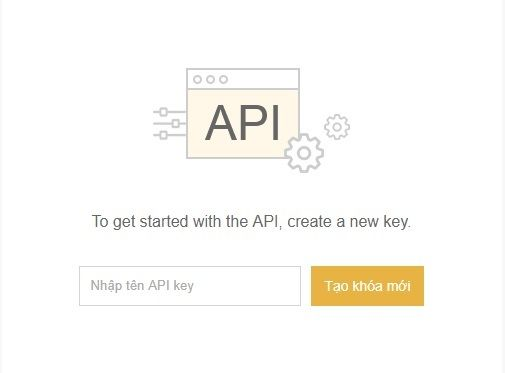 api key sàn binance