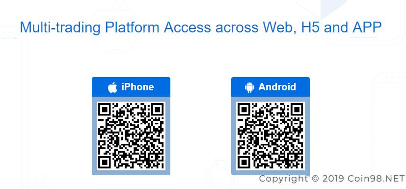 app IOS Android san bitmax
