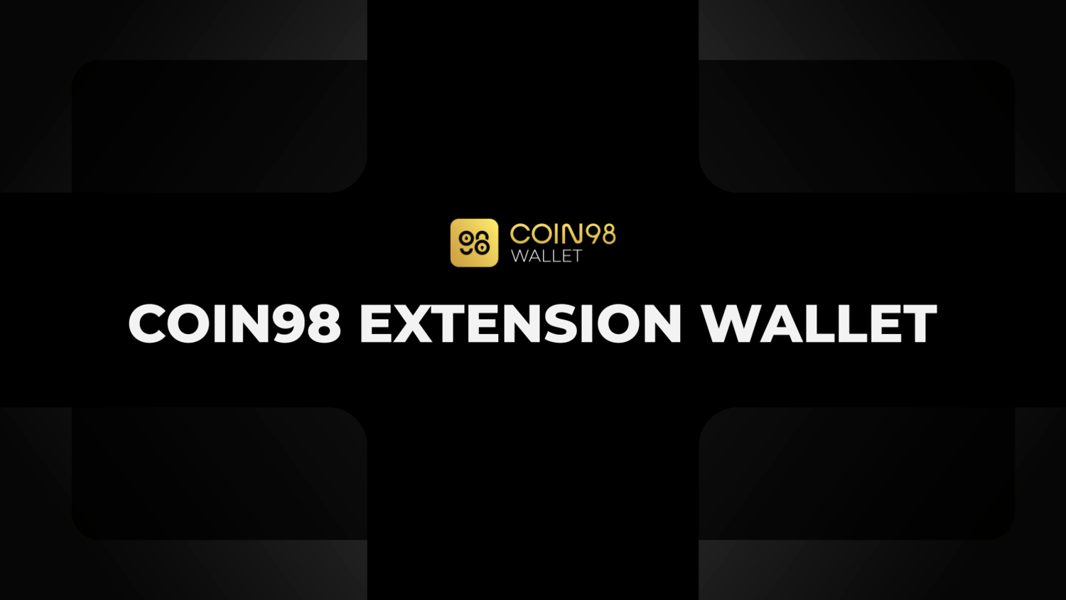 Coin98 Extension wallet