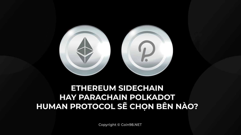 Ethereum Sidechain hay Parachain Polkadot - Human Protocol sẽ chọn bên nào?