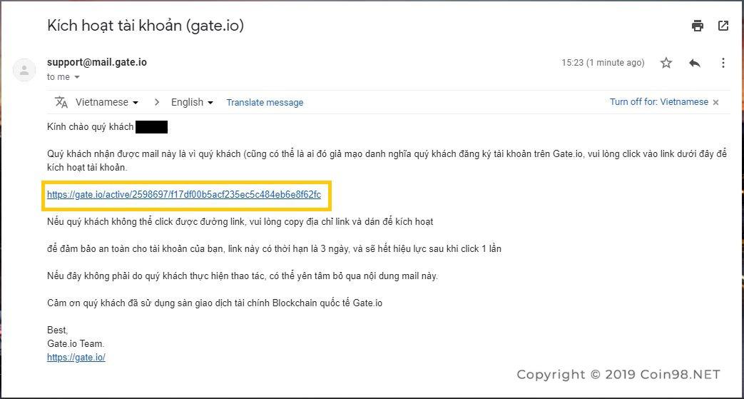 đăng ký gate.io 4