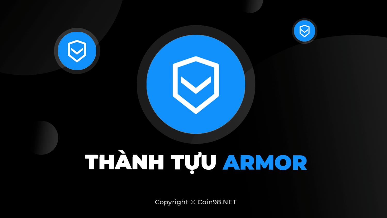 Thành tựu của Armor: Token ARMOR #1 trên Dextools và những con số ấn tượng