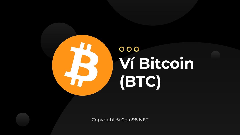 Ví Bitcoin (BTC)